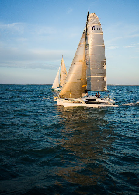 Sailboat Sailing Ocean Learn New Sport