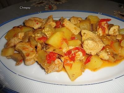 Λαχανικά με χοιρινό στην κατσαρόλα