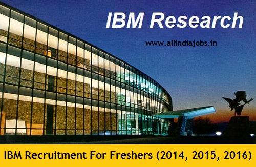 IBM Recruitment 2018-2019 Job Openings For Freshers