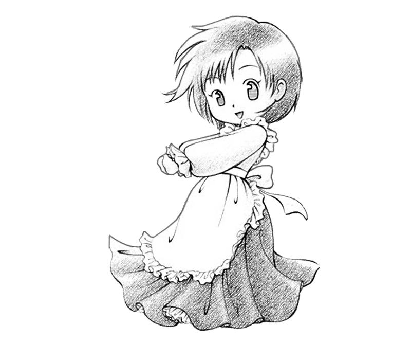 gamecube harvest moon coloring pages - photo #40