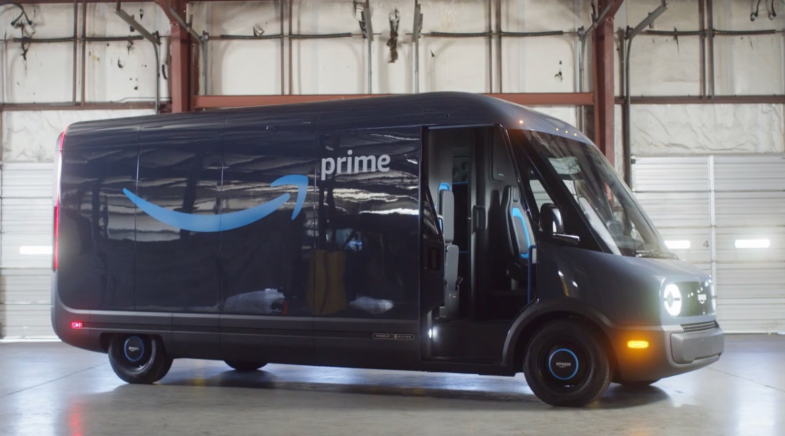 Amazon's First Electric Rivian Vans Are Now Making Deliveries