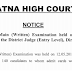 Patna High Court Result 2019 – District Judge (Mains) Exam Result