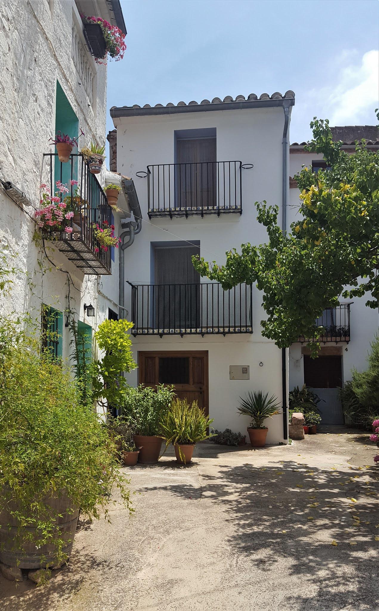Houses in the village of Ain, Serra d'Espadà, Castellón