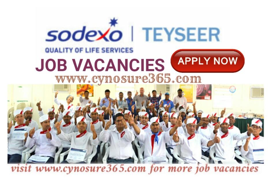 TEYSEER GROUP SODEXO QATAR JOB VACANCIES - CYNOSURE365