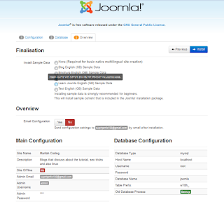 Cara Menginstall Joomla