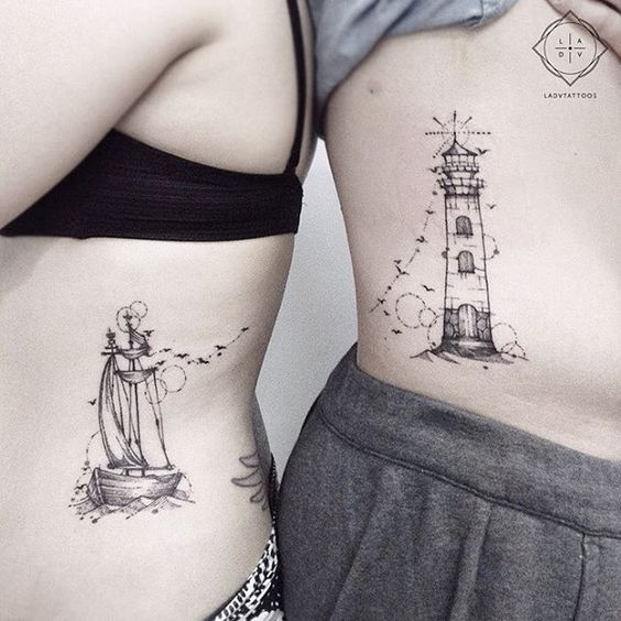 couple-tattoos-12 15 Sweetest Couple Tattoos Designs tattoo