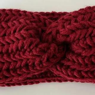 Diadema Básica a Crochet