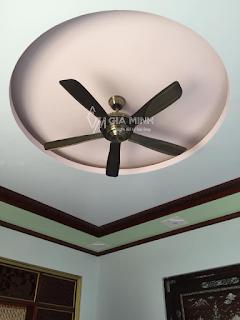 Hình ảnh thực tế: Quạt trần đèn CD50 New - Chú Hồng - Vĩnh Phúc