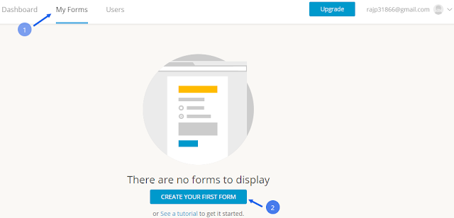 Add custom contact form to blogger