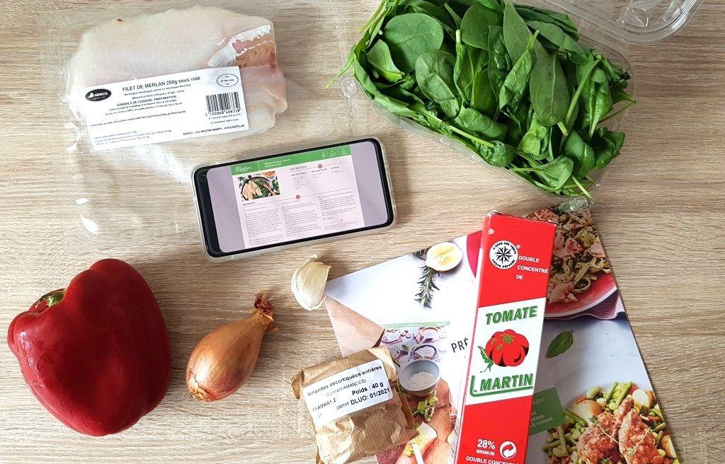 avis sur la livraison de panier repas kitchendaily