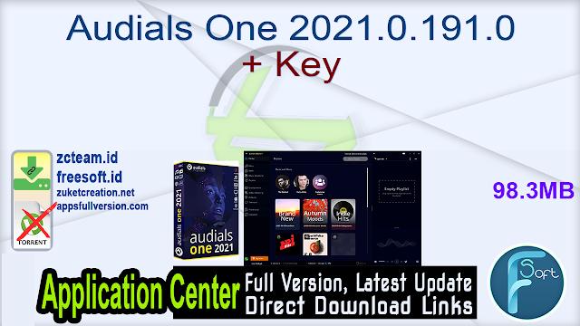Audials One 2021.0.191.0 + Key_ ZcTeam.id