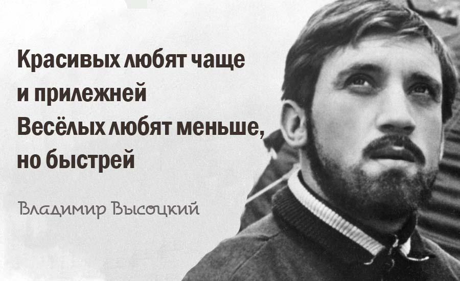 ТОП-20 Вечных Цитат Владимира Высоцкого
