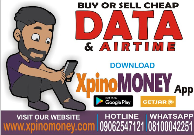 Cheapest Data, Xpino, VTU, Reseller Portal, Business, Nigeria, Xpino Money App, Airtime, airtime2cash, Precious Ikpoza