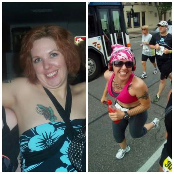 10+ Before-And-After Pics Show What Happens When You Stop Drinking - At 77 Days, I Did My 1st Half Marathon!
