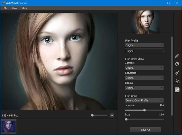 Screenshot WidsMob Retoucher 2.5.8 Full Version