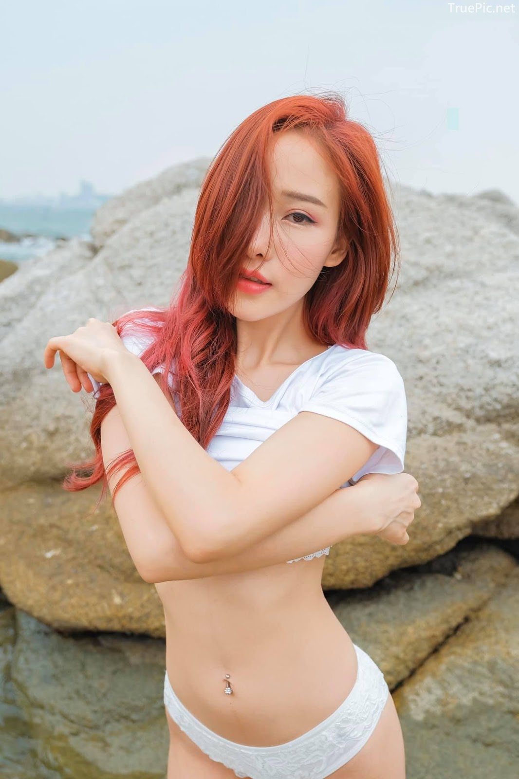 Thailand sexy model Arys Nam-in (Arysiacara) – The goddess of the sea - Picture 7