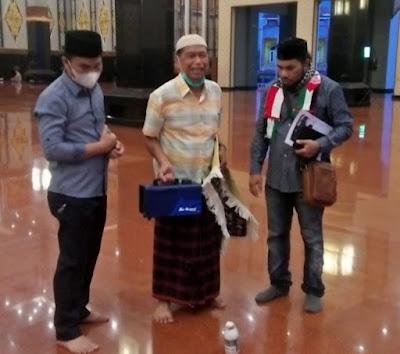 Warga Aceh Tenggara Diperkenalkan Mesin Disinfektan AGE-800