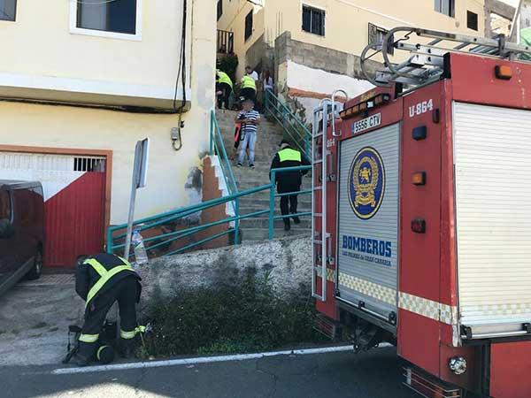 Muere una mujer en una  explosión en una vivienda en La Matula