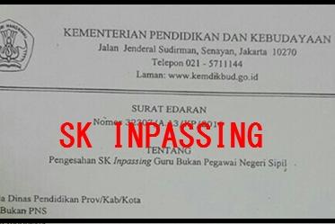 Syarat untuk mendapatkan SK Inpassing 2019