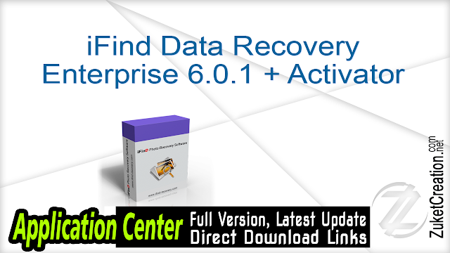 iFind Data Recovery Enterprise 6.0.1 + Activator