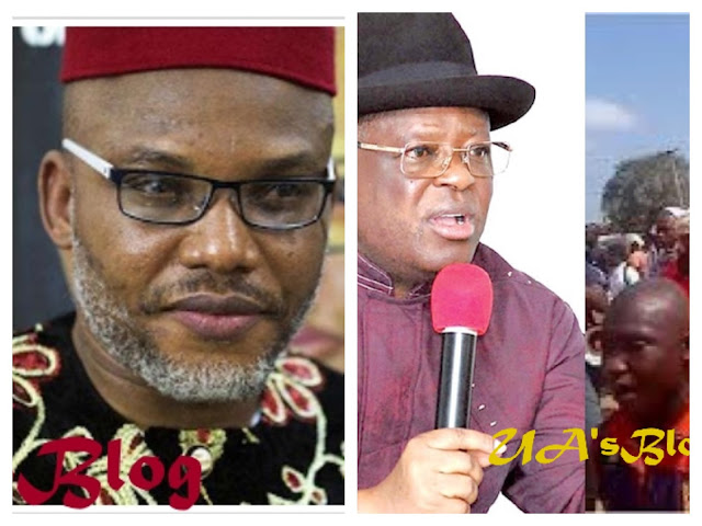 Biafra: Nnamdi Kanu tells Gov. Umahi to apologize for 'betraying' IPOB