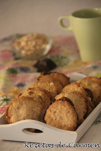 Rezetas de carmen galletas de avena y chocolate tipo ikea for Bandeja horno ikea