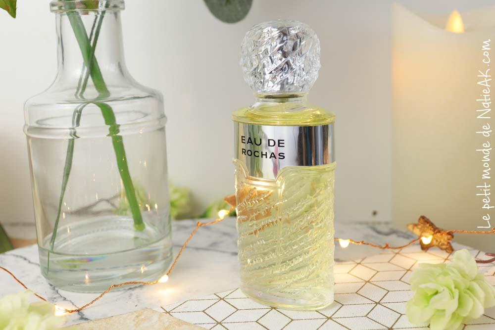 Parfum eau de Rochas  pas cher