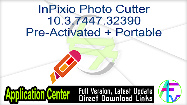 InPixio Photo Cutter 10.3.7447.32390 Pre-Activated + Portable