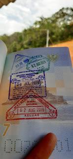 Cap Datang dan Pergi di Paspor