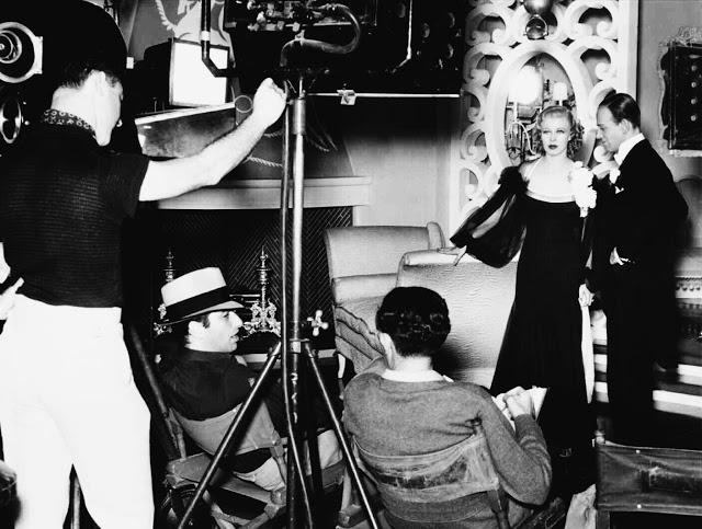 Foto dos bastidores do filme O Picolino, 1935.