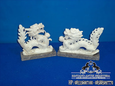 Patung Naga Tarung, Jual Patung Naga Marmer, Kerajinan Marmer Tulungagung