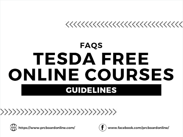 Registration Guidelines for TESDA Free Online Courses