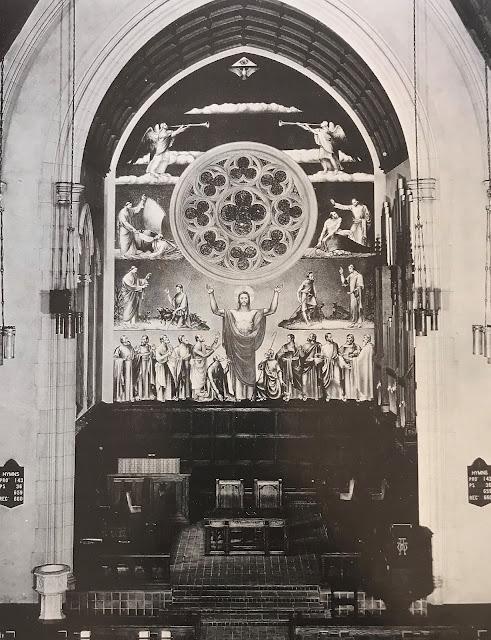 Image of Rutgers Presbyterian Church Mural   Alfred Crimi