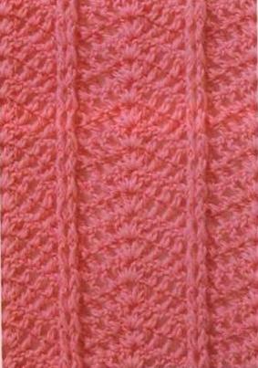 Patron #833: Punto Tupido a Crochet