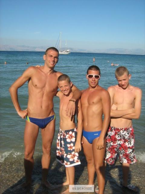 Naked boys fucking at the beach #4
