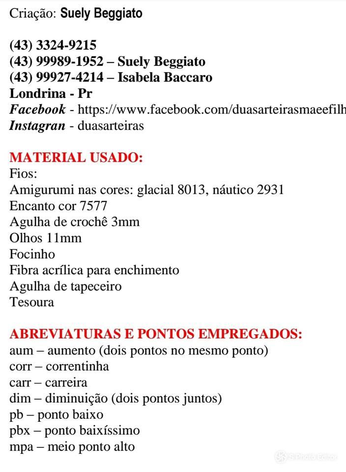 Receita Amigurumi Unicórnio Enrico - Blog do Bazar Horizonte | 960x704