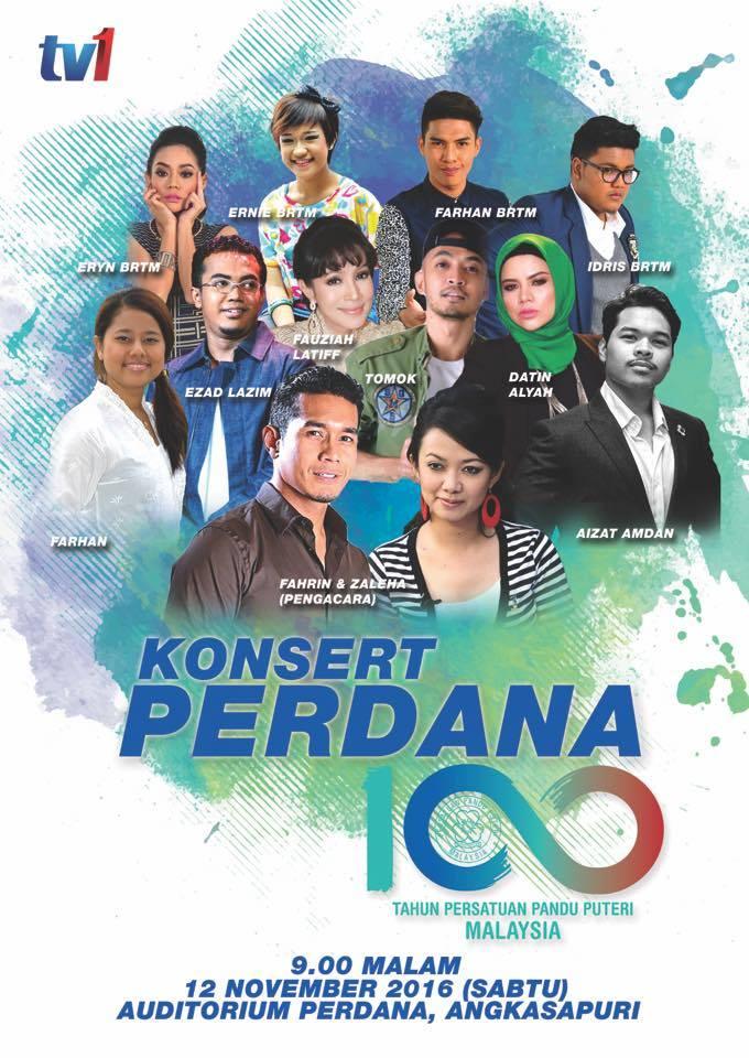 Konsert Perdana 100 Tahun Pandu Puteri