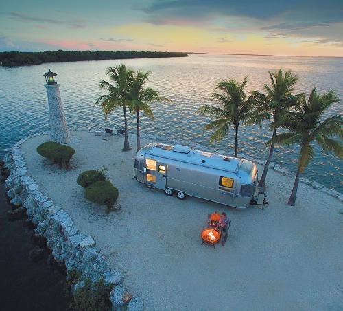 Airstream Camper Florida Keys