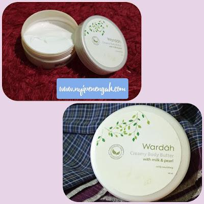 body butter wardah yang paling wangi body butter wardah yang memutihkan cara pakai creamy body butter wardah review body butter wardah milk and pearl