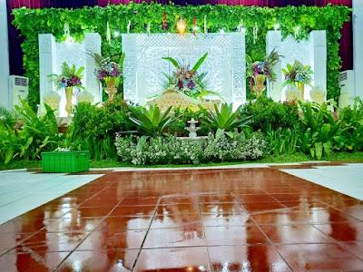 Dekorasi Pernikahan Gedung - Paket Wedding Organizer Semarang