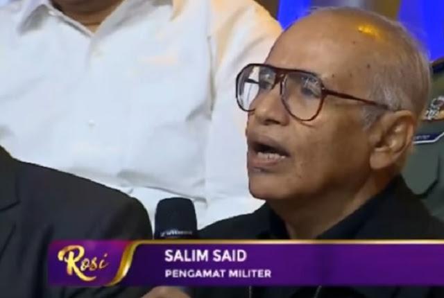 """Ini """"Tamparan"""" Pengamat Militer Salim Said untuk Acara Rosi yang Mengundang Panglima TNI"""