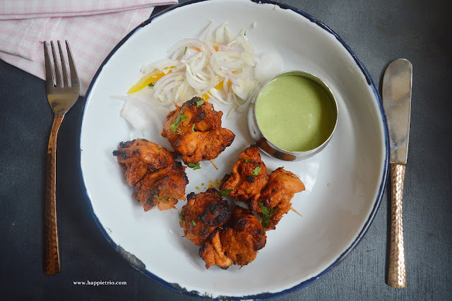 Chicken Tikka Recipe | Stove top Version Of Chicken Tikka Recipe
