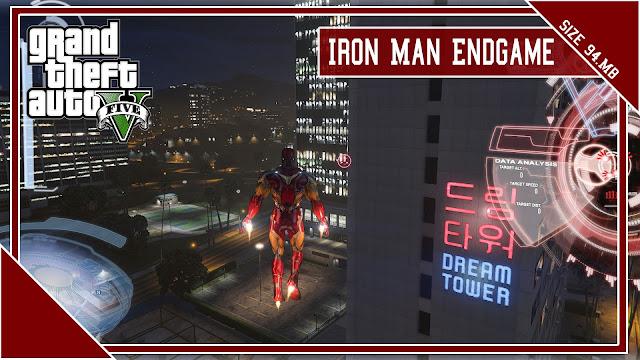 GTA 5 Iron Man Endgame Mod For Pc