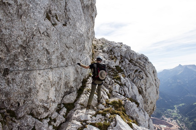 Eisenerzer Klettersteig : Bergtour #19 pfaffenstein green bird diy mode deko und interior