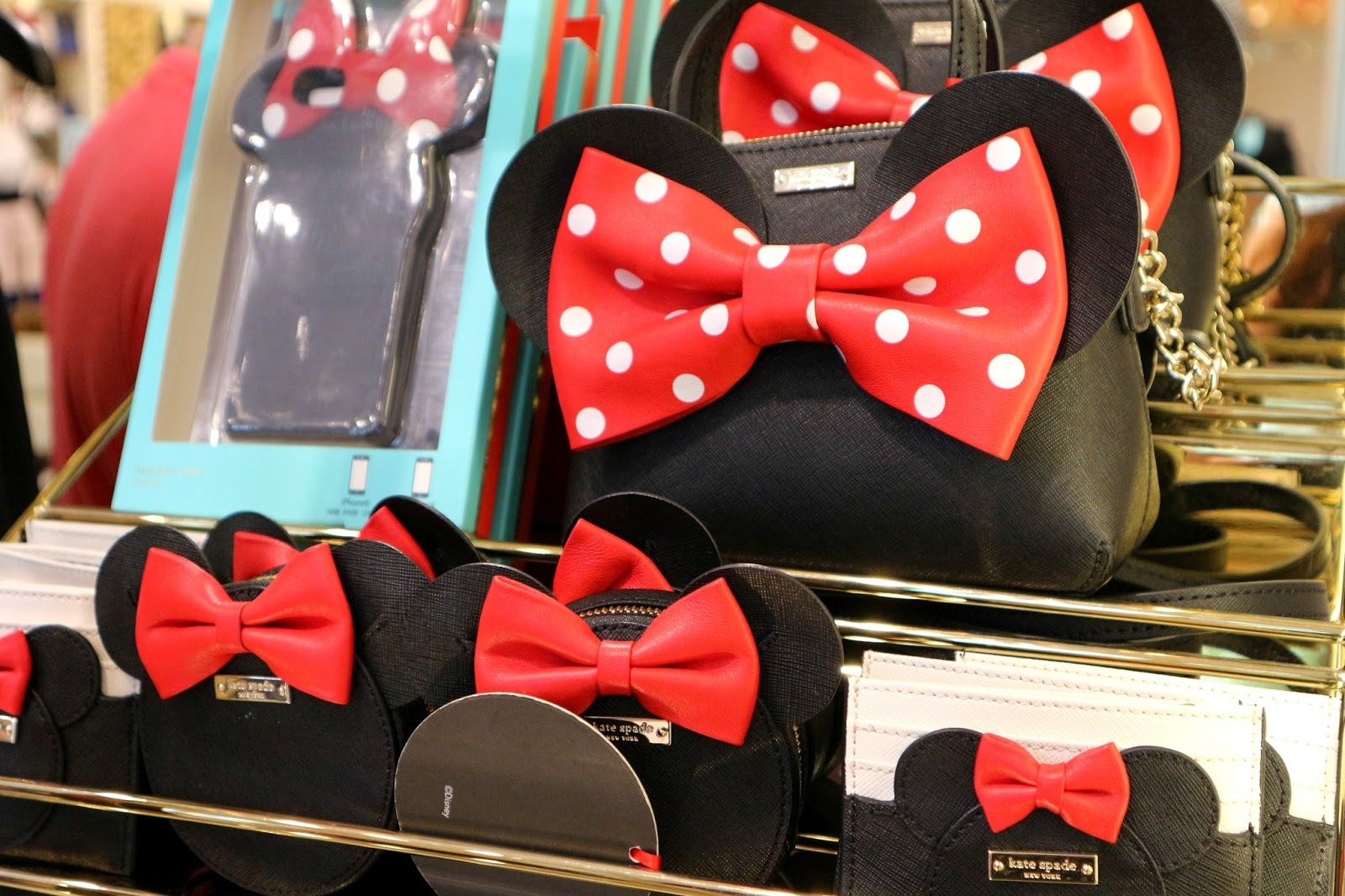 Kate Spade New York x Minnie Mouse at Disney Springs
