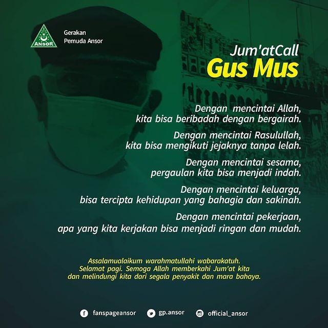 Gus Mus - Karena Cinta Semua Terasa Mudah