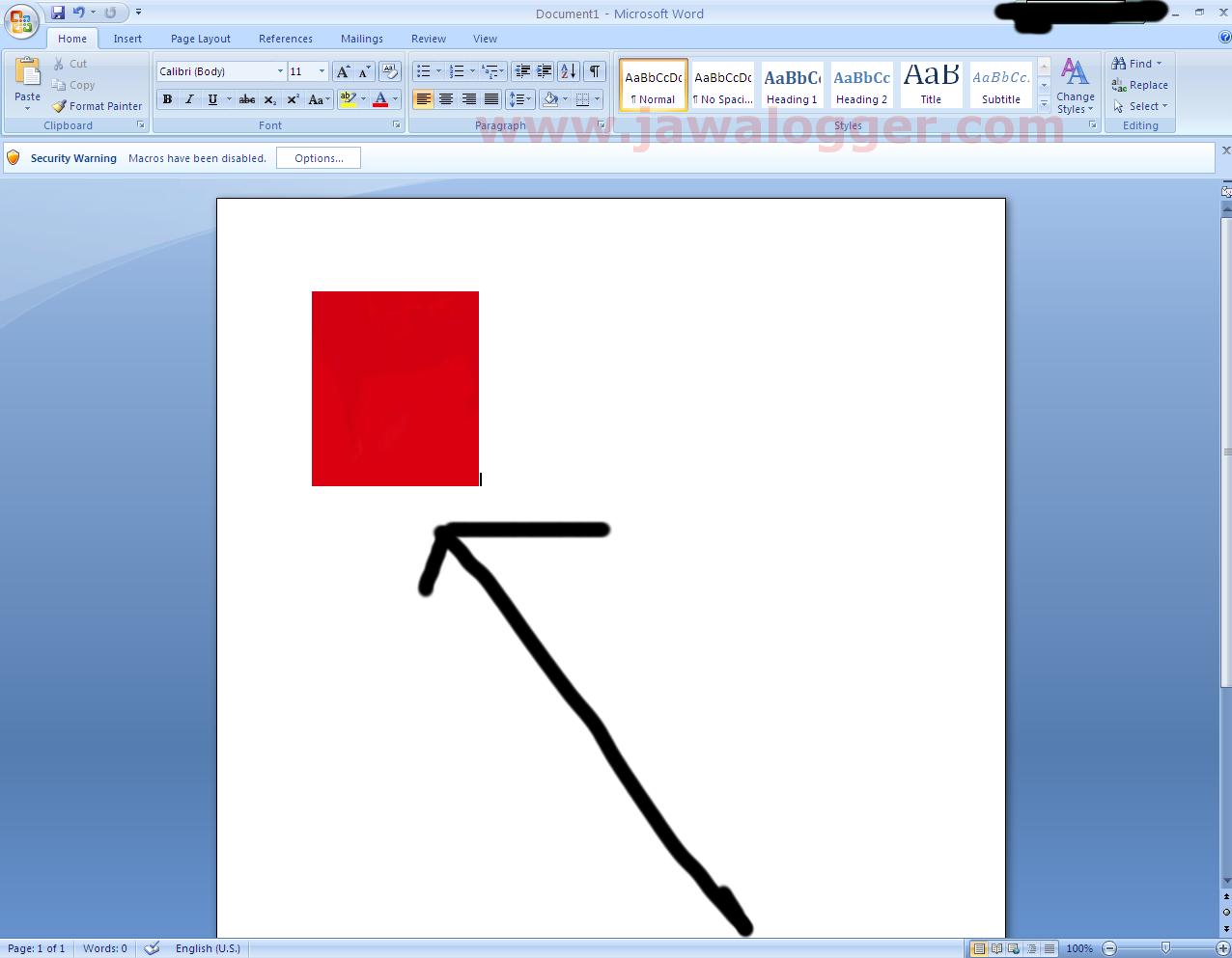 Cara Memasukkan dan Mengedit Gambar di Microsoft Word 2007 ...