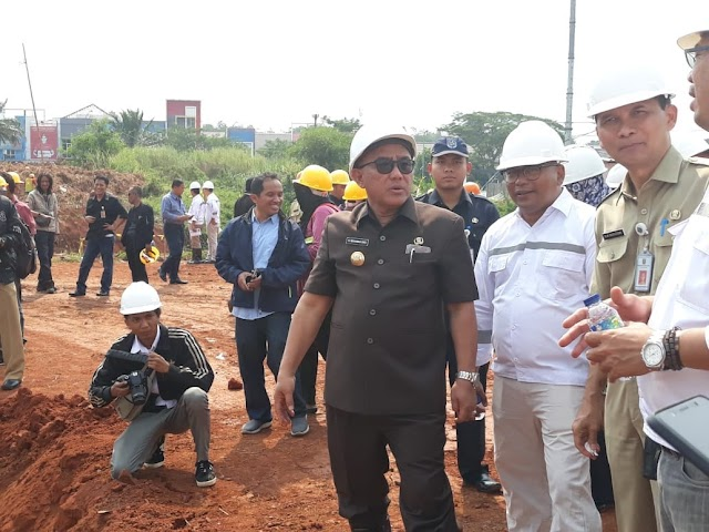 Pembangunan Alun-Alun Tahap Awal Ditargetkan Rampung Akhir Tahun 2018