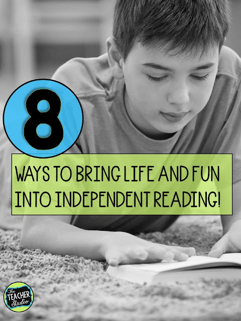 reading comprehension, independent reading, reader's workshop, readers workshop, reading lessons reading fun