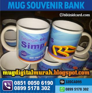 cetak mug souvenir bank murah